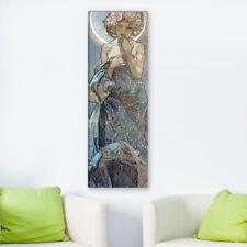 """WANDKINGS Leinwandbild Alfons Mucha - """"der Mond"""""""