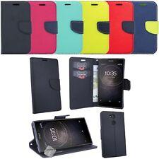 Housse etui coque pochette portefeuille pour Sony Xperia L2 + film ecran