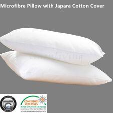 Microfibre Pillow with Japara Cotton Cover King Size 50x90cm