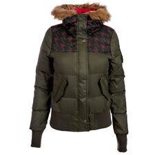 Adidas Women's Neo AOP Down Jacket Ladies Winter Coat Hooded Jacket G79995