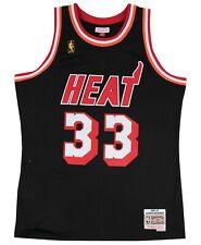 Miami Heat NBA Jersey Black Alonzo Mourning Hardwood Swingman Mitchell & Ness