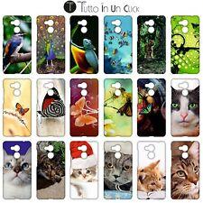 Custodia cover RIGIDA per Huawei Honor 6c Pro -  Design _358_375