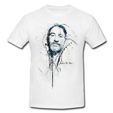 Robert De Niro Premium Herren und Damen T-Shirt Motiv aus Paul Sinus Aquarell