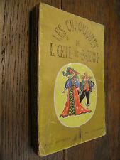 Les chroniques de l'oeil-de-boeuf aux sources de l'histoire Touchard Lafosse T 1