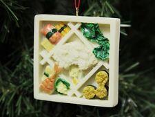 Sushi Bento Box Christmas Ornament