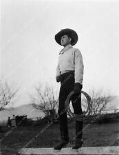 1902-31 Colonel Tim McCoy and lasso western cowboy film star 1902-31
