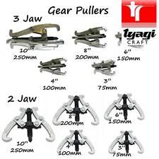 """Extractor de la mandíbula Gear Reversible piñón Rodamientos Polea 3"""" 4"""" 6"""" 8"""" 10"""" pulgadas inversa"""