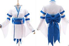 Mn-18 REM Re: Zero Kara hajimeru Isekai Seikatsu Blanc Kimono Set de Cosplay Costume