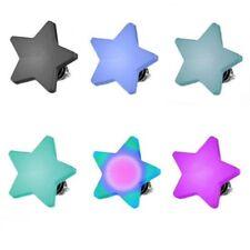 Micro Dermal Anchor Piercing Pieza Sobrepuesta Placa Plana Rosca Estrella