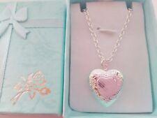 Girls Heart Photo Locket Necklace Girls Jewellery Xmas Stocking Filler Gift