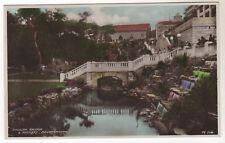 Pavilion Bridge - Bournemouth Real Photo Postcard c1920