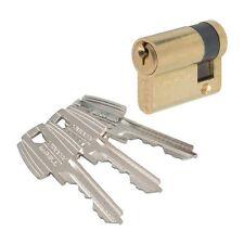 Cylindre de sécurité TESA , DEMI-CYLINDRE TE5 LAITON , TESA , VOIR TABLEAU