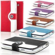 Zanasta Wallet Custodia per Smartphone Protettiva Cover Case Bumper Portafoglio