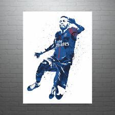 Neymar Jr Paris Saint-Germain PSG Footballer Poster FREE US SHIPPING