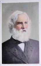 Henry Wordsworth Longfellow Photostint Detroit Postcard
