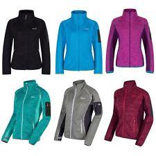 Strickfllece Strickfleece Jacke für Damen Frauen von Regatta Laney III Lila Rot