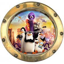 Sticker hublot enfant Les Pingouins de Madagascar réf  9552 9552