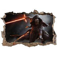 Stickers 3D trompe l'oeil Star Wars Kylo Ren réf 23258 23258