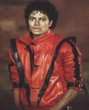 Thriller Michael Jackson Uomo Vera Pelle Da Motociclista Giacca