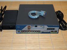 Cisco C1861-UC-B/K9-MS Router same as C1861-UC-2BRI-K9 CME