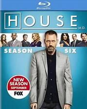 HOUSE-SEASON 6 (BLU RAY/5DISCS/WS), DVD, , , Excellent