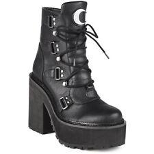 Killstar Gothic Goth Punk Stiefel Plateaustiefel - Broom Rider Platform Boots
