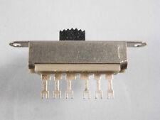 Simeteoschalter Schiebeschalter 2x um Typ U2 125 V  500 mA Switch