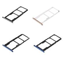 X HUAWEI Y6 2018 Vassoio alloggio porta scheda TRAY Sim1 Sim2 +Memoria Micro SD
