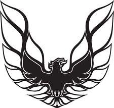 Pontiac Firebird Logo B Vinyl Decal Your Color Choice Sticker