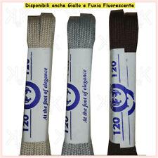 Lacci per scarpe colorati piatti stringhe piatte 90 120 bianchi Blu Grigio  giall e055725ef41