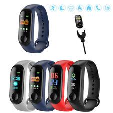 Blood Pressure Oxygen Heart Rate Fitness Smart Watch Wrist Band Bracelet