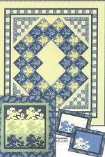 Sun Rose quilt pattern by Marjorie Rhine of Quilt Design Northwest