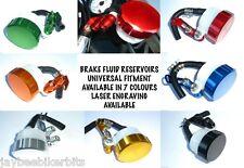 Universal Motorcycle Front Brake Tank Master Cylinder Fluid Reservoir GSXR R1 R6