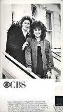 STEFANIE POWERS AVA GARDNER MAGGIE ORIG 86 CBS TV PHOTO