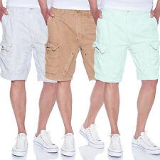 JET LAG Cargo Shorts 17-116 in den Farben Milky Green, Alentian und Beige