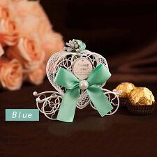 5X Cute Cinderella Carriage Candy Chocolate Boxes Birthday Wedding Party Decorat