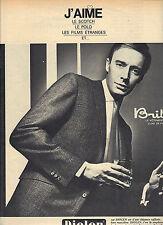 PUBLICITE  1976    DIOLEN BRIL  vetemets de luxe