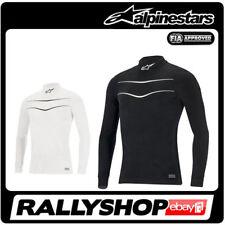 Alpinestars RACE Long Sleeve Top FIA underwear S M L XL XXL Black White Tuning
