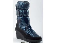 Damen Stiefel Stiefeletten Manitu Winterschuhe Schuhe blau Gr.36-42