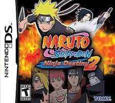 Nintendo DS Naruto Shippuden: Ninja Destiny 2 (Tomy)