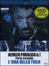 Blu-ray + Dvd NEMICO PUBBLICO N. 1 ♦ PARTE SECONDA ♦ L'ORA DELLA FUGA nuovo 2009