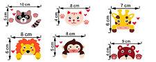 Stickers animaux pour interrupteur, chambre d'enfant