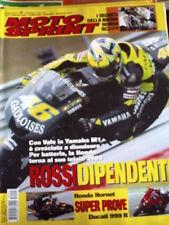 Motosprint 7 2005 Test Honda Hornet Ducati 999R