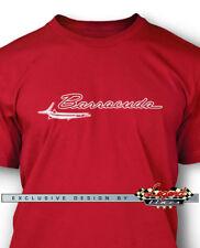 1964 - 1969 Plymouth Barracuda Emblem Men T-Shirt - Multiple colors & Sizes
