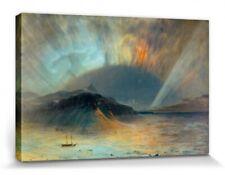 Frederic Church - Aurora Borealis Poster Leinwand-Druck Bild (120x80cm) #97402