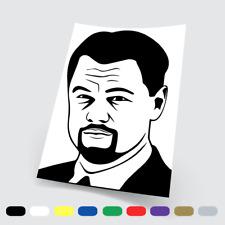 Adesivi in vinile Stickers Prespaziati Leonardo DiCaprio Auto Notebook Parete pc