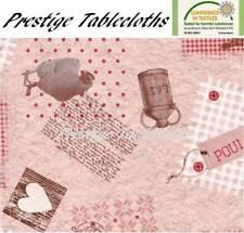Farm Life PVC Vinyl Wipe Clean Tablecloth - ALL SIZES - Code: F148-1