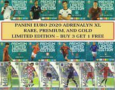 Panini UEFA EURO 2020 ADRENALYN XL - RARE PREMIUM, GOLD & LIMITED EDITION CARDS