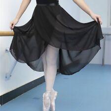 FEMMES DANSE CLASSIQUE BALLET jupe adulte professionnel mousseline de soie  long 54e07d691b3