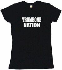 Trombone Nation Womens Tee Shirt Pick Size Color Petite Regular